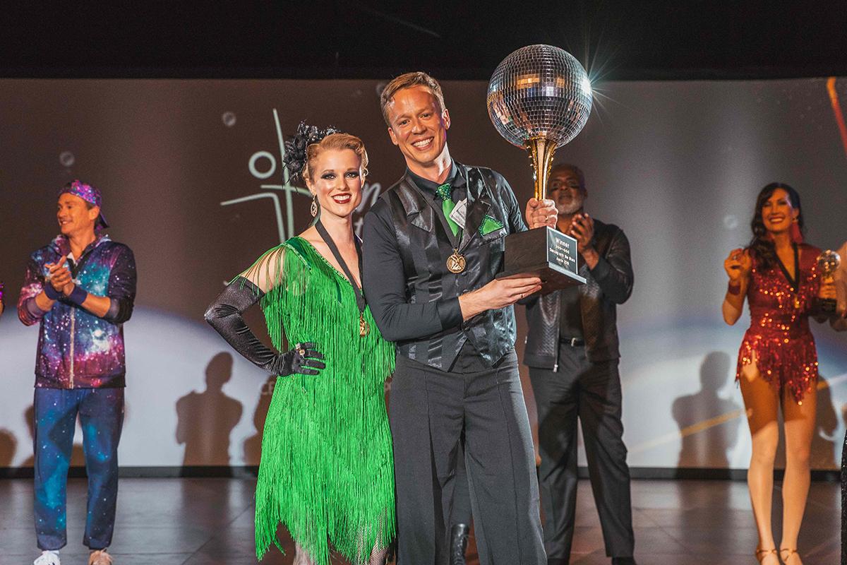13th Annual Dancing with the Stars Winners Katrina Repka and Brian Yacktman