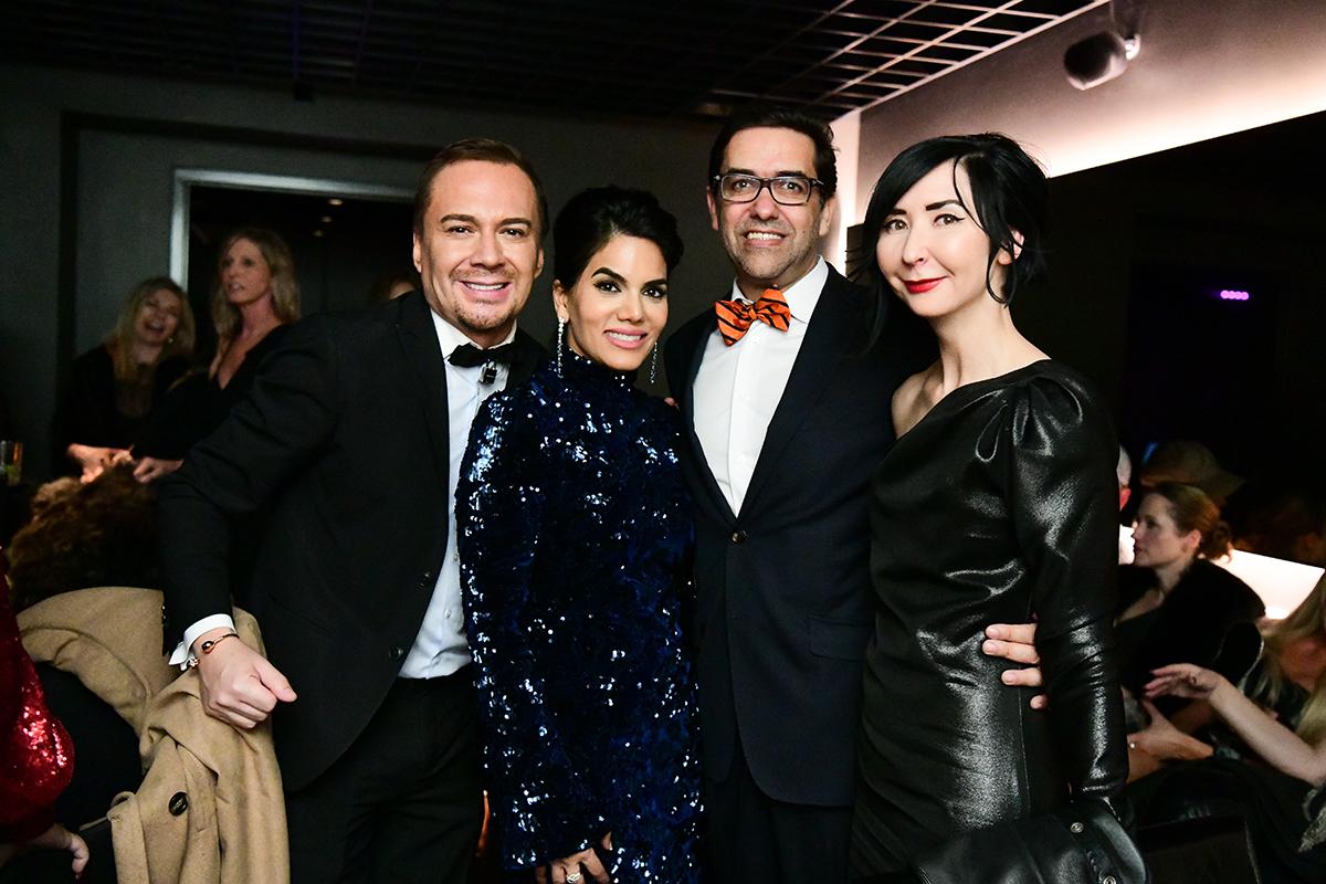 Adrian Duenas, Nina Magon, Marcelo Saenz & Carrie Brandsberg-Dahl