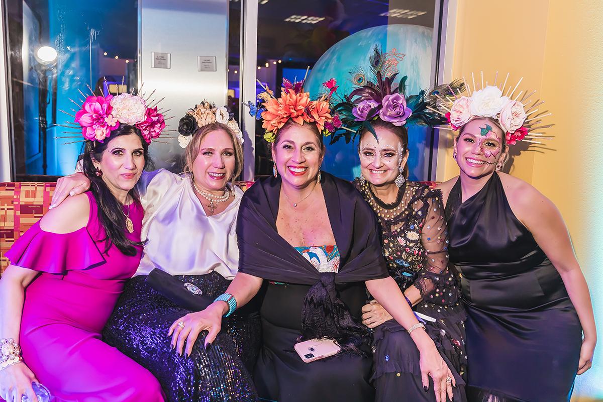 Alexandra Cavazos, Marissa Garcia, Diana Barrios Trevino, Magdalena Gaona and Maricita Garcia