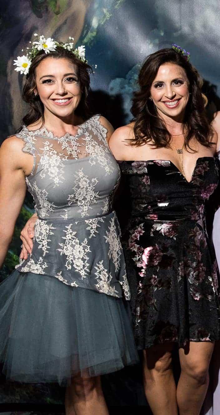 Amanda Dudley and Lockie Ealy