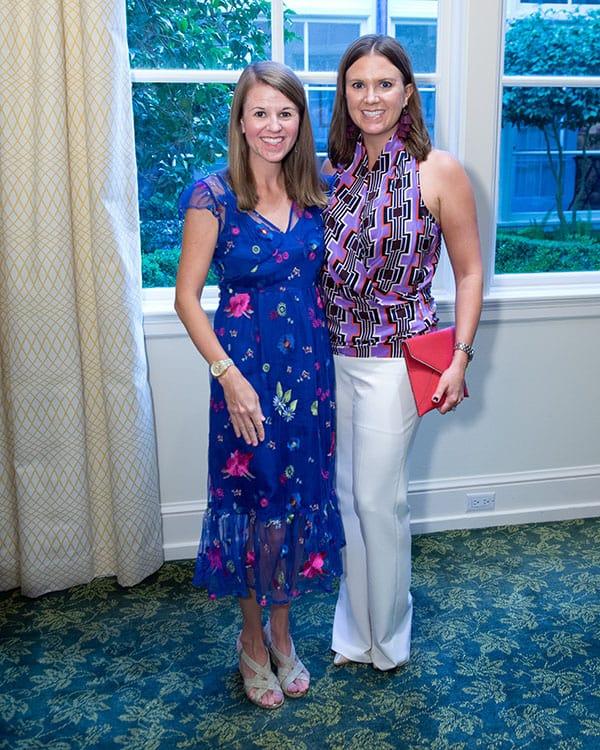 Amy Johnson and Julie Baughman