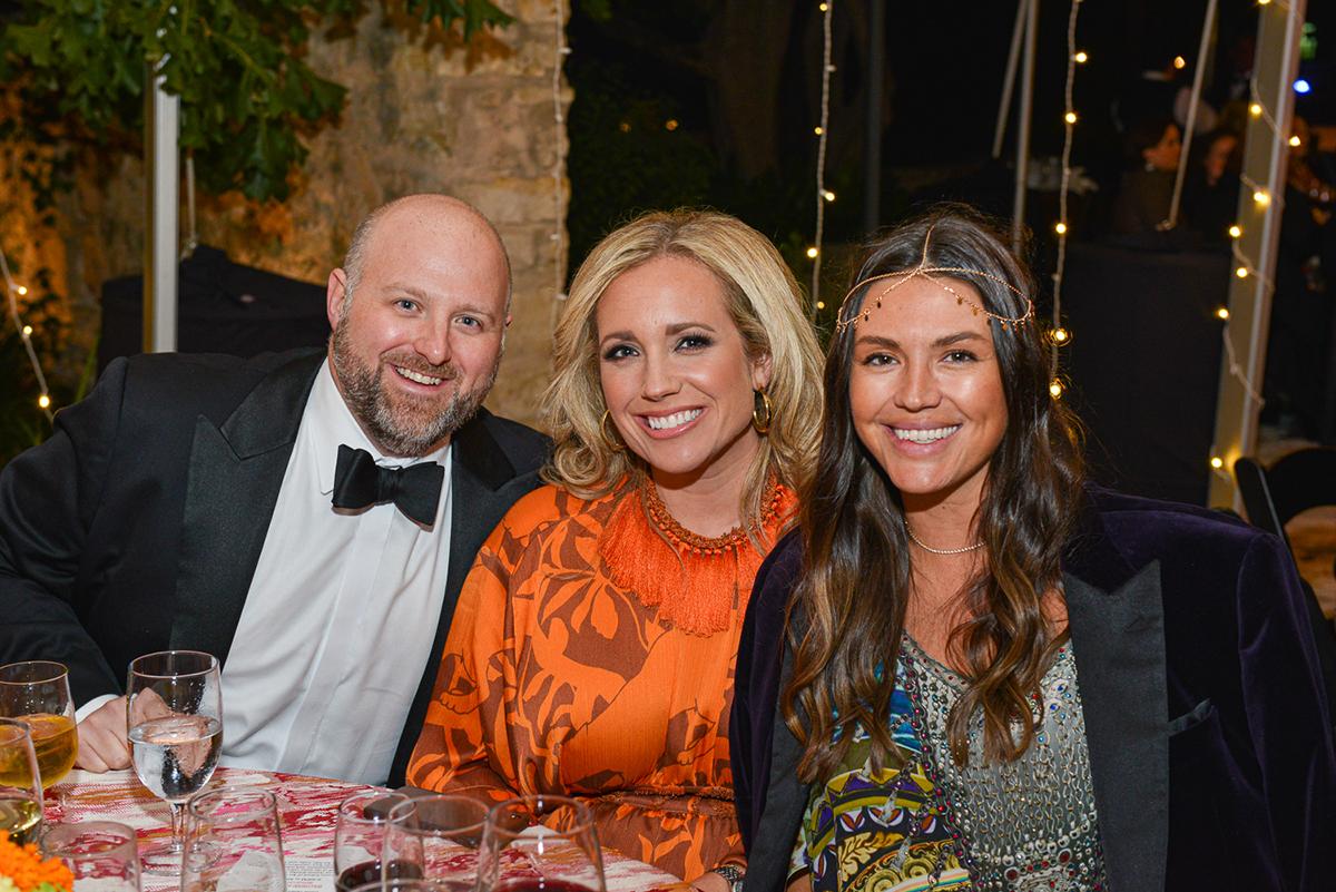 Andrew and Ashley Friedman & Amanda Cavender