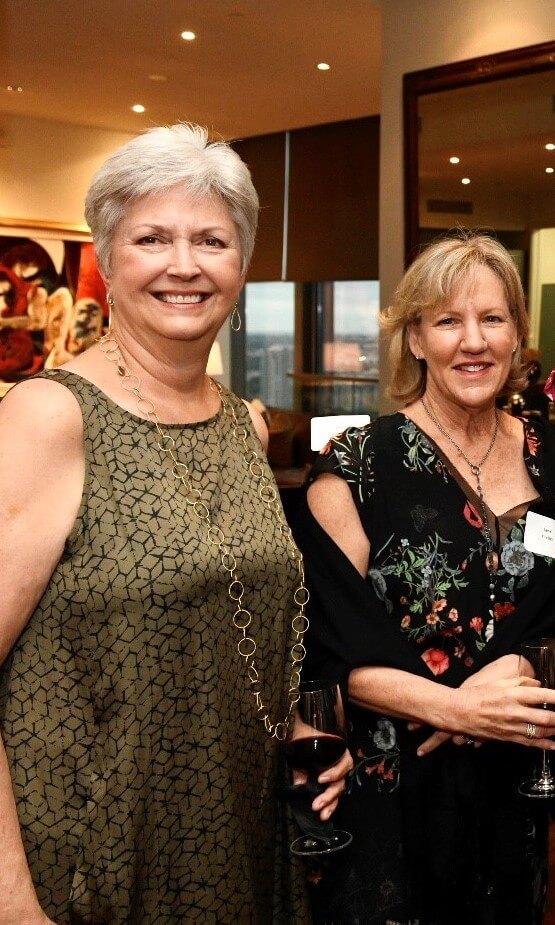 Anita Maxwell and Jane Flieller
