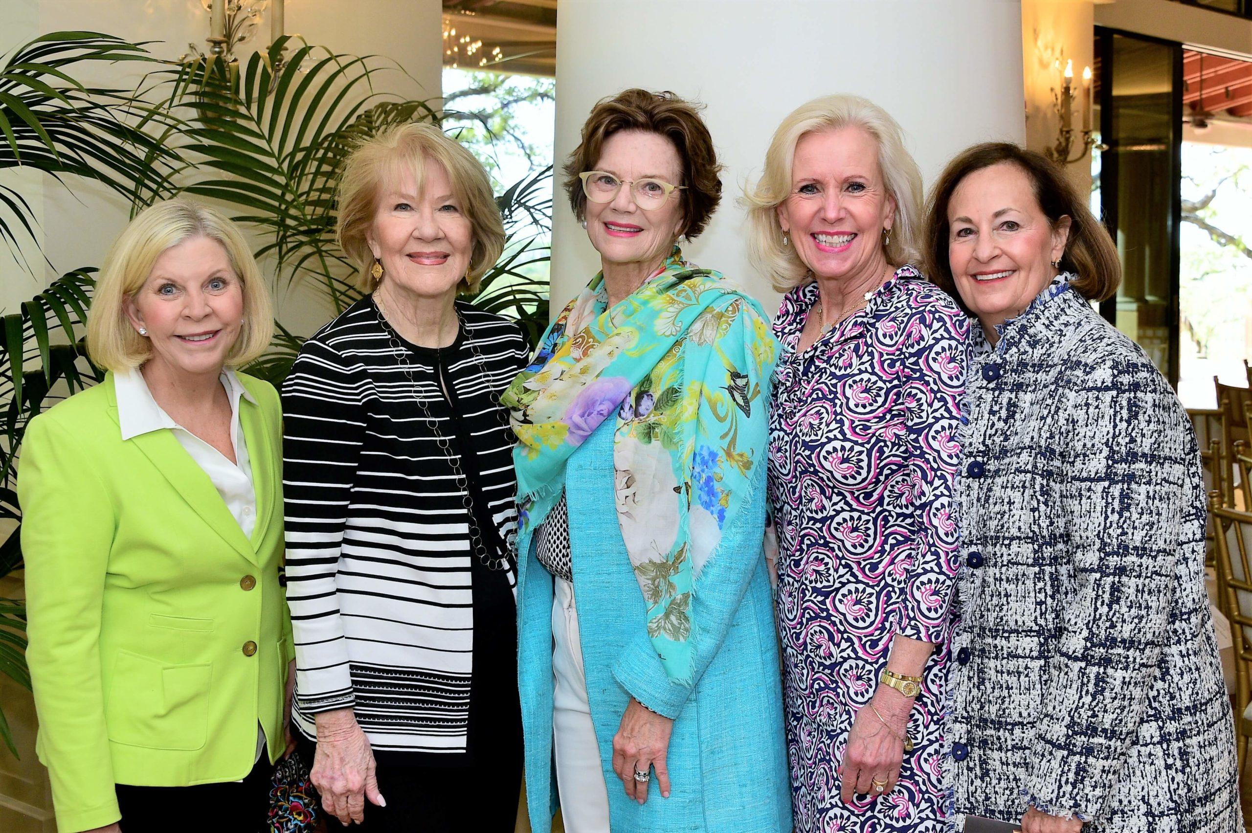 Anne Ballantyne, Diana Morehouse, Susan Smith, Betsy Gwin and Maria Morgan