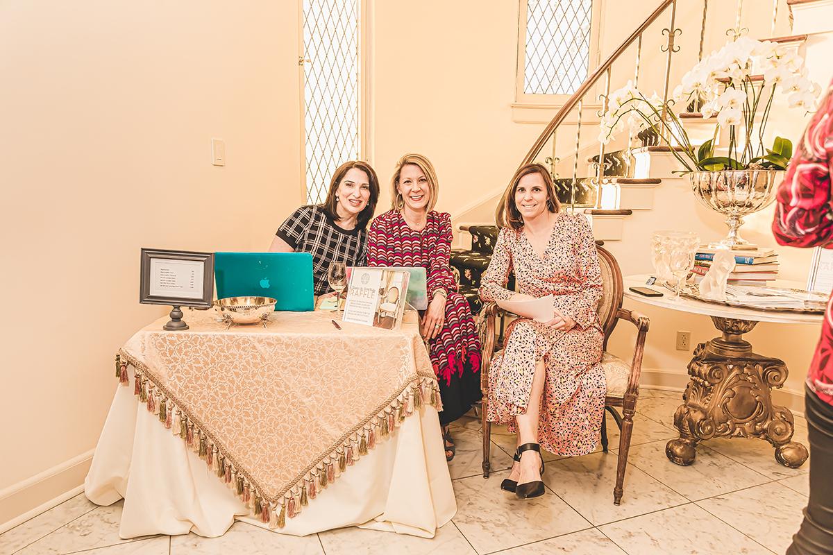 Audra Kerr, Brooke Meabon and Mary Labatt
