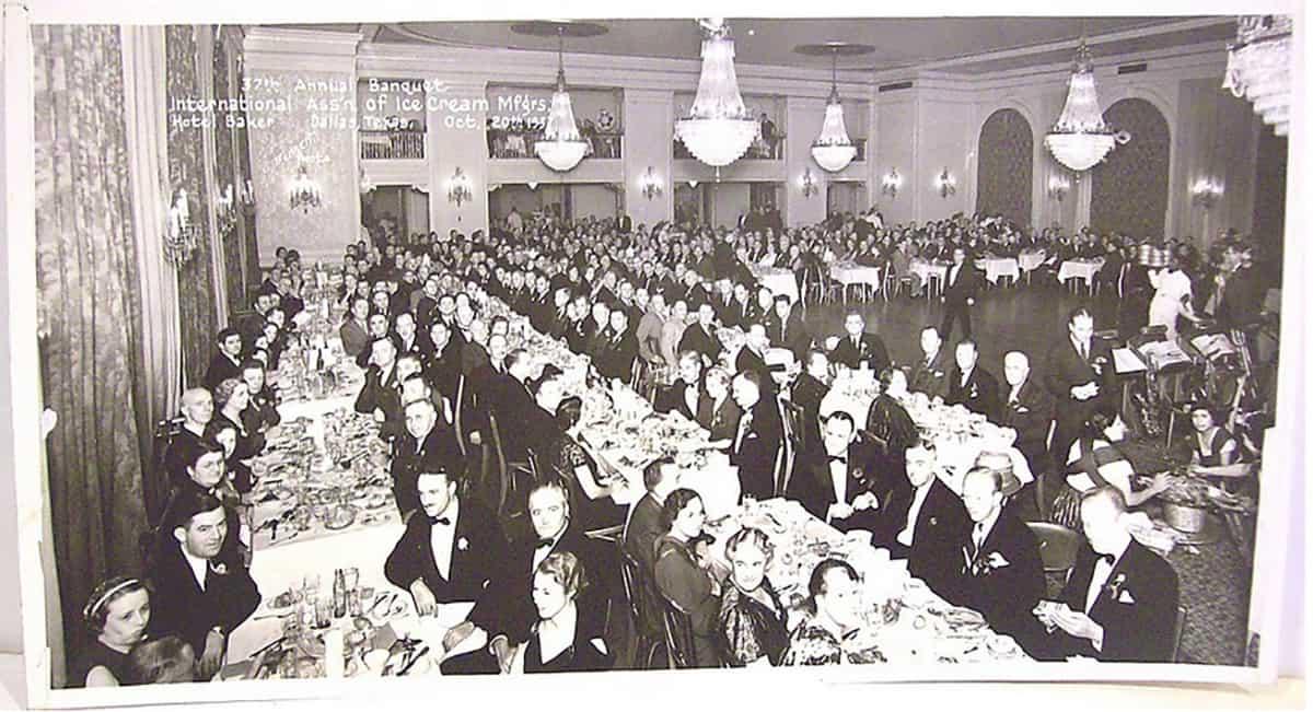 Baker Hotel event, 1937