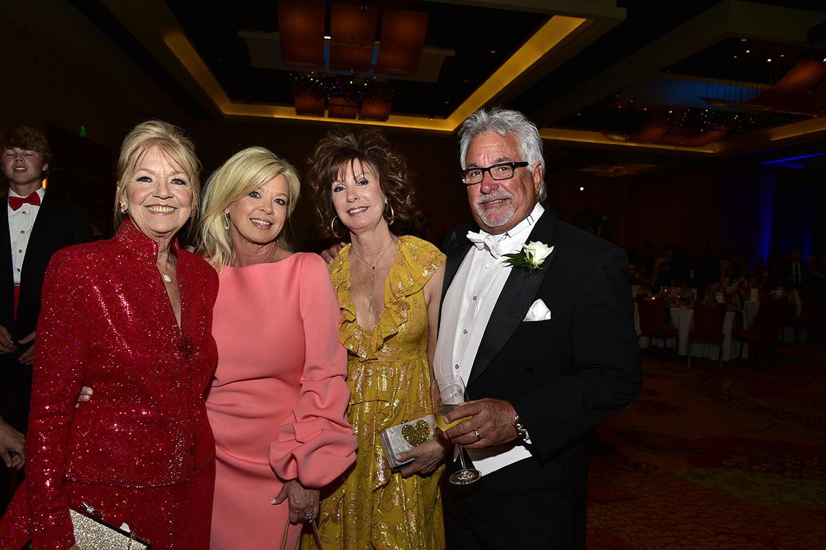 Barbara Powell, Debbie Behnke & Patricia and Ed Britt SILHOUETTE