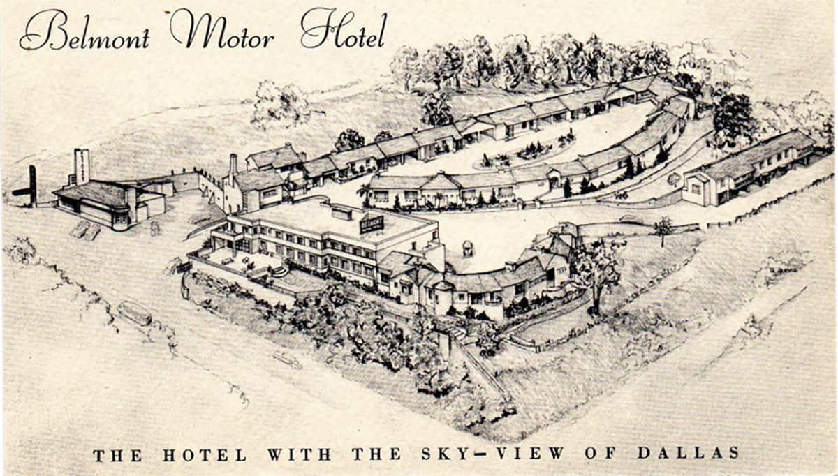 Belmont Motor Hotel, 1940s