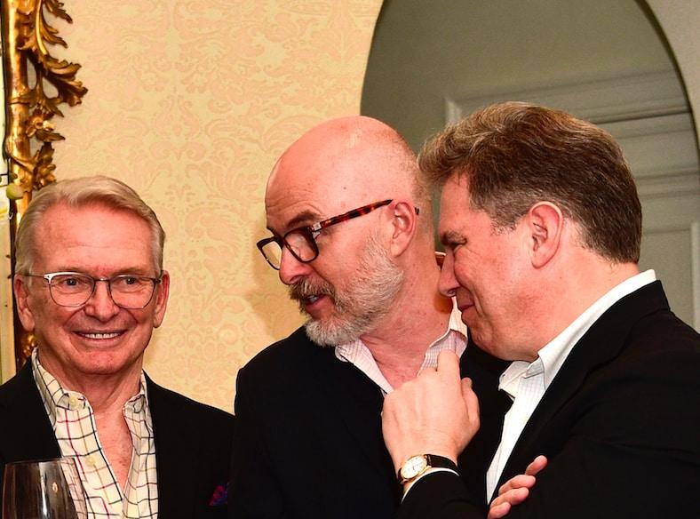 Bob Mackie, Joe McFate and Marc Shwartz