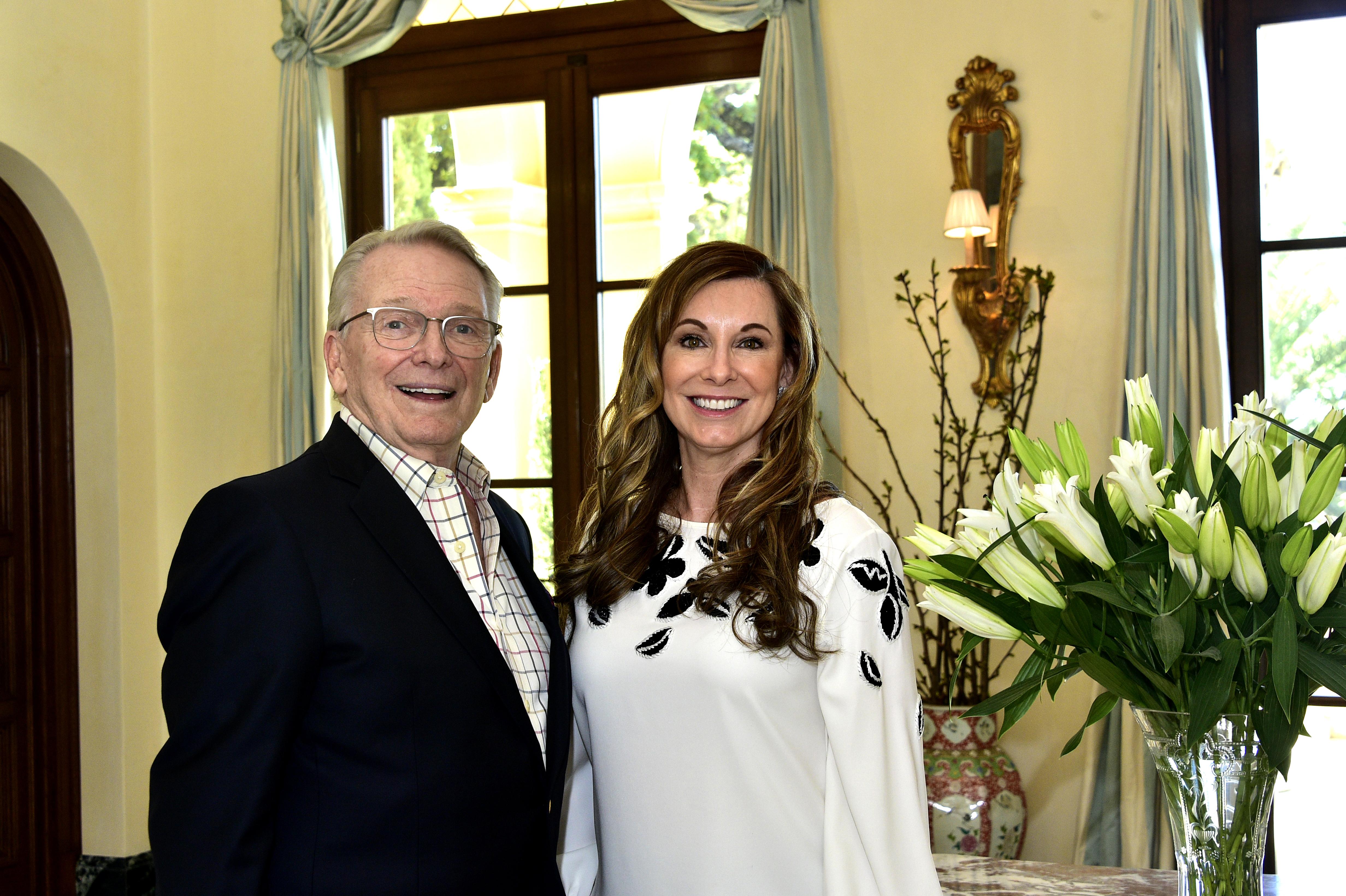 Bob Mackie and Kim Lewis