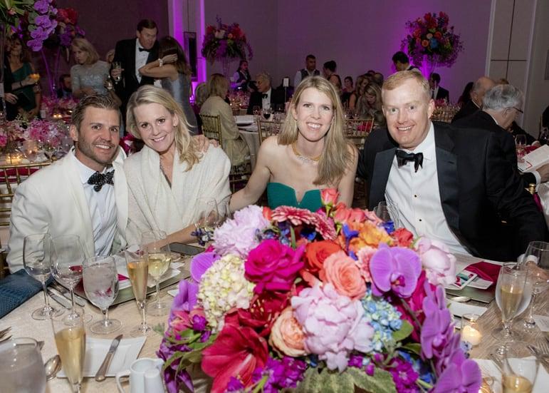 Brooks Rhinehart, Marlo Marion _ Erin and Charles Ikard
