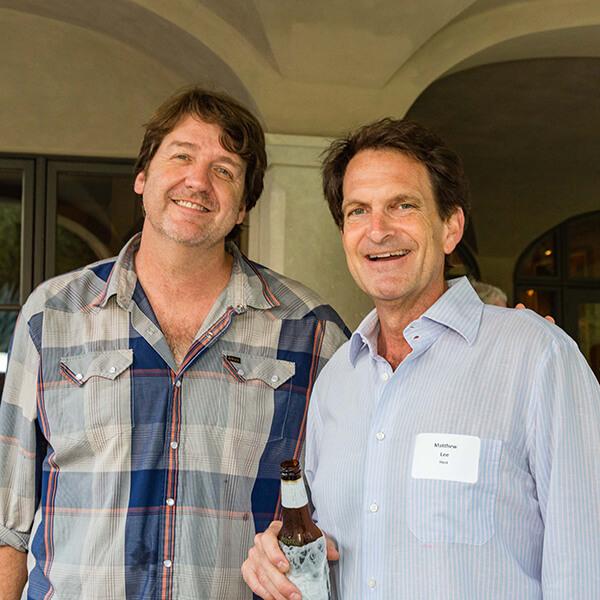 Bruce Robinson and Matthew Lee