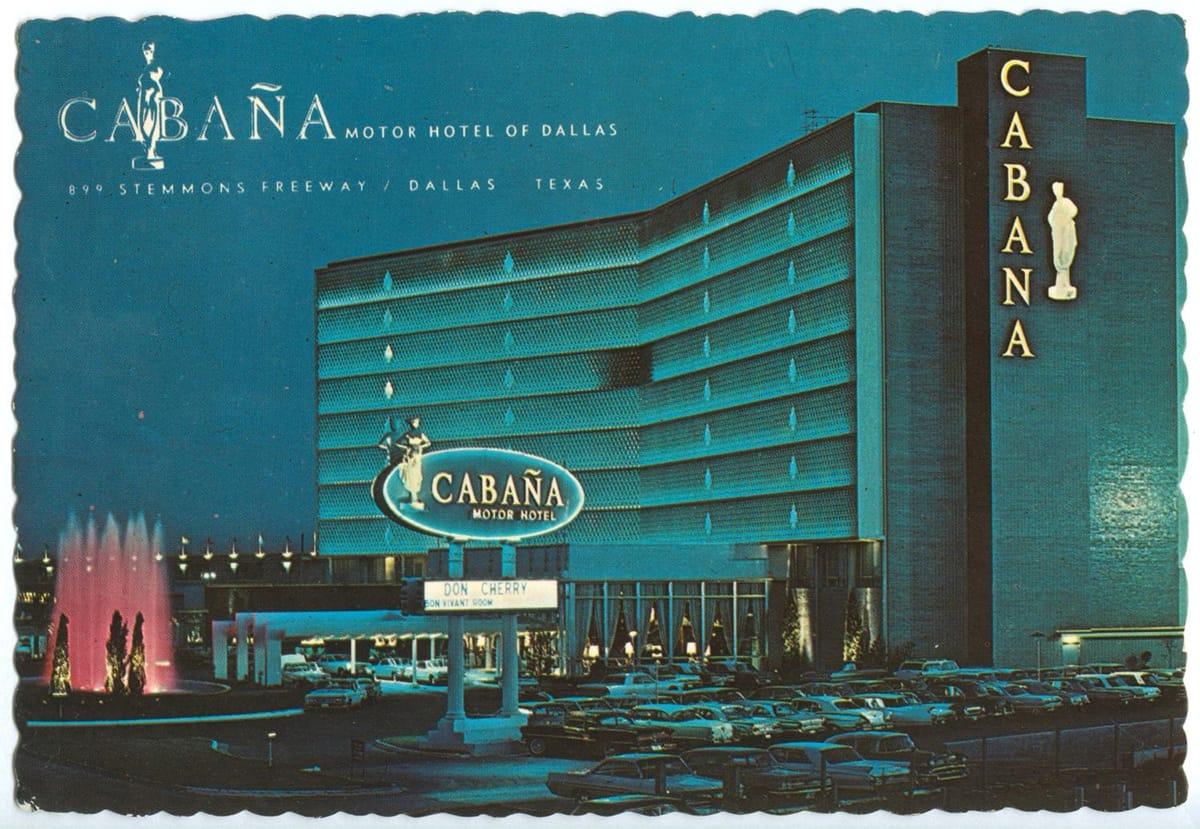 Cabana, 1960s