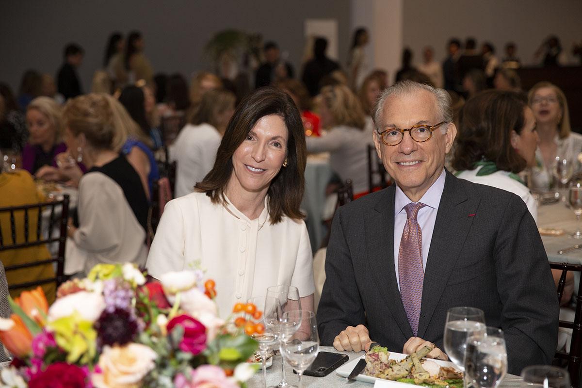 Carmen Knapp and Gary Tinterow