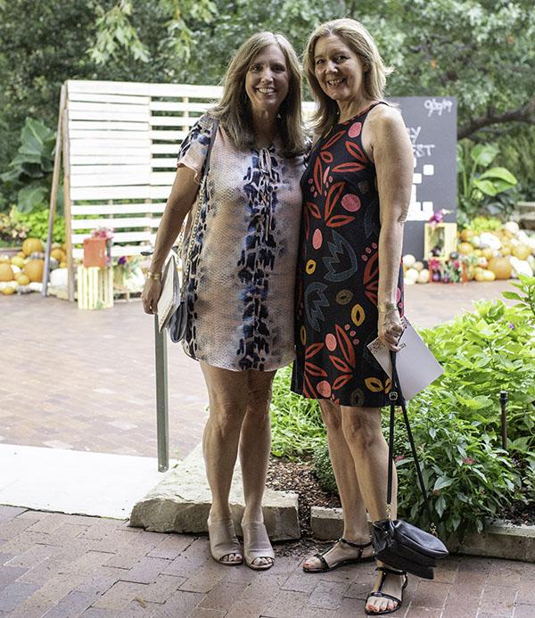 Cathy Bain and Lynn Mahurin
