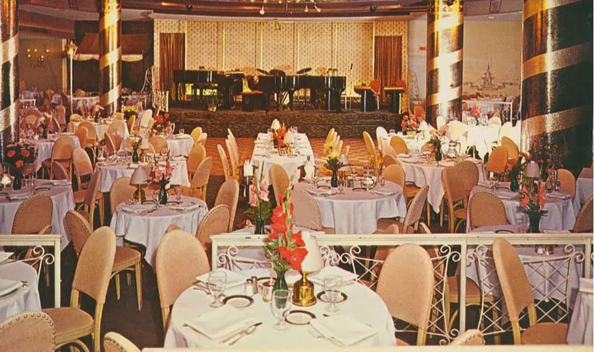 Century Room at Hotel Adolphus, 1950s