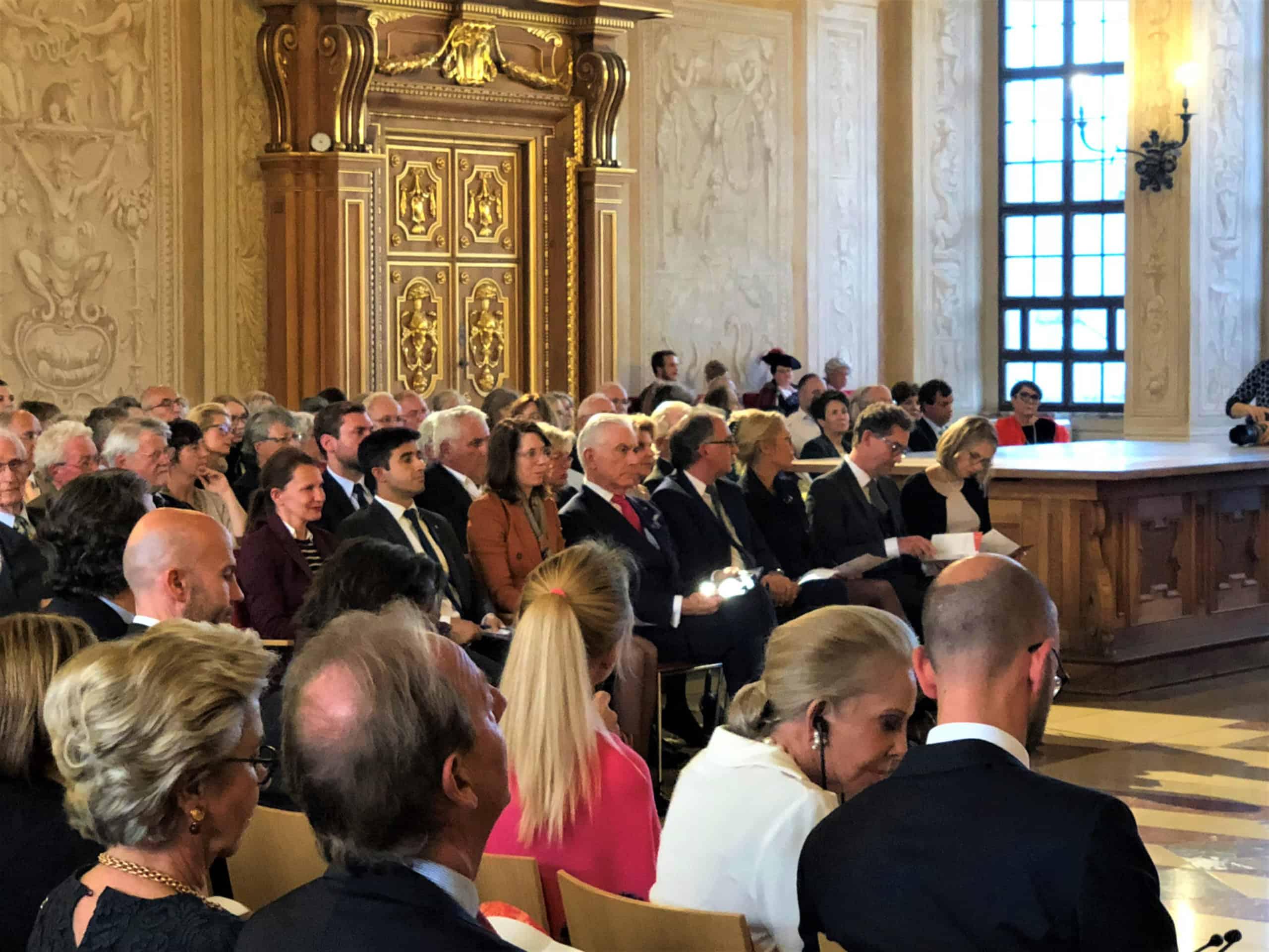 Ceremony audience 1