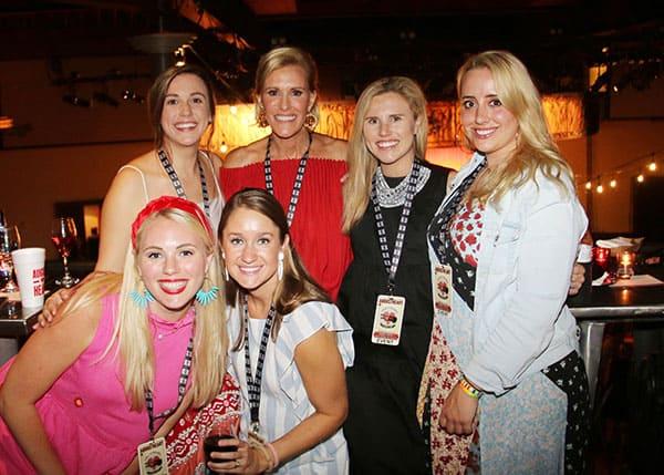 Charlotte Dawson, Dore Koontz, Paige Cavender, Sarah Geibel, Sage Blount and Maggie Carr