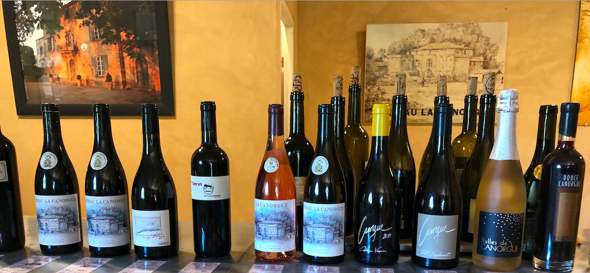 Chateau la Canorgue wine