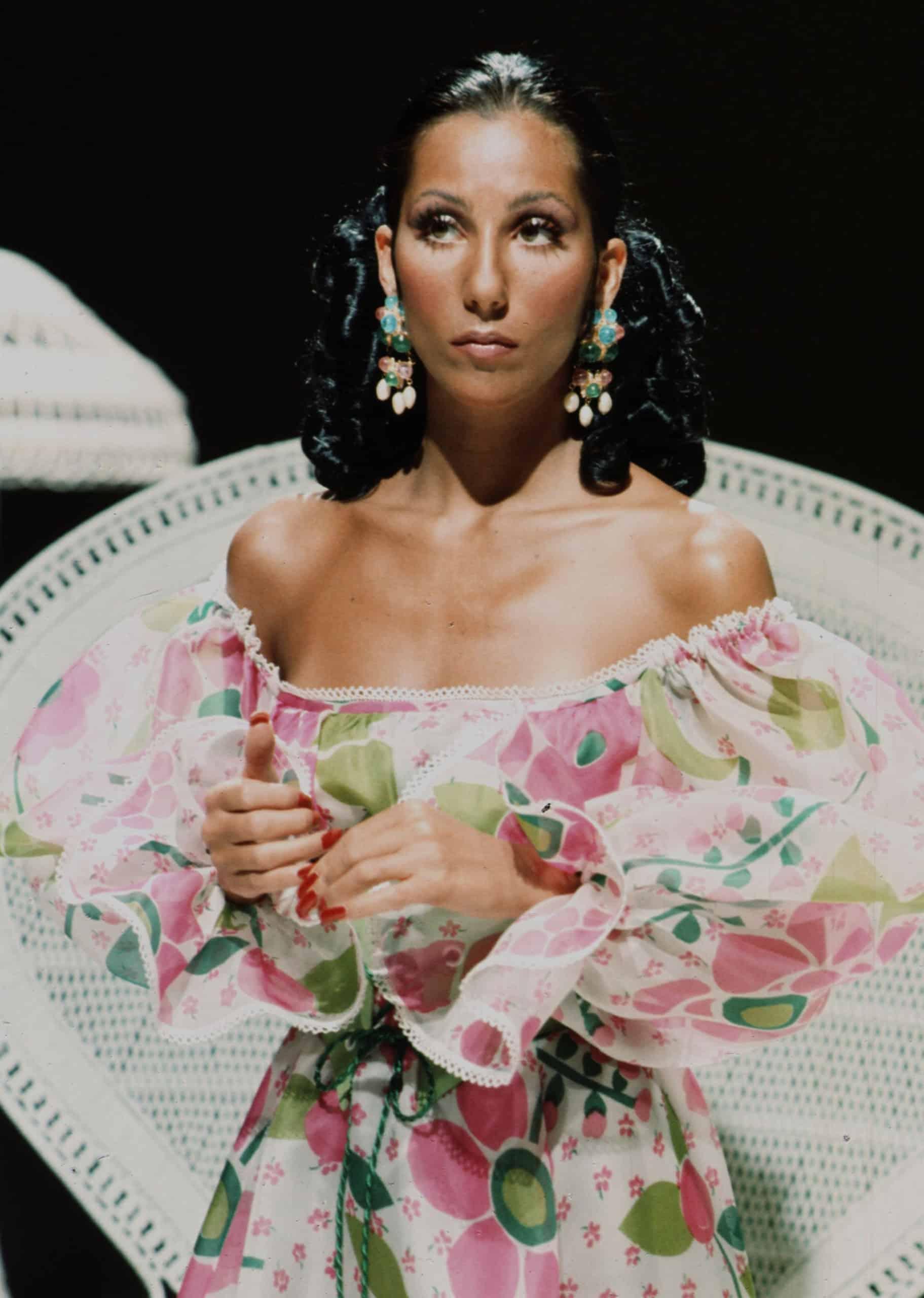 Cher wearing Bob Mackie, 1970s
