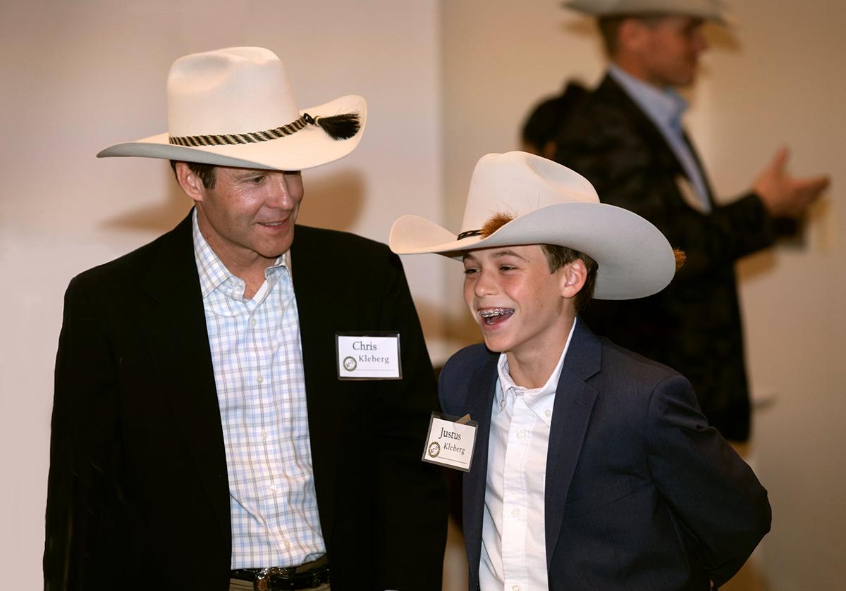 Chris Kleberg and Justus Kleberg