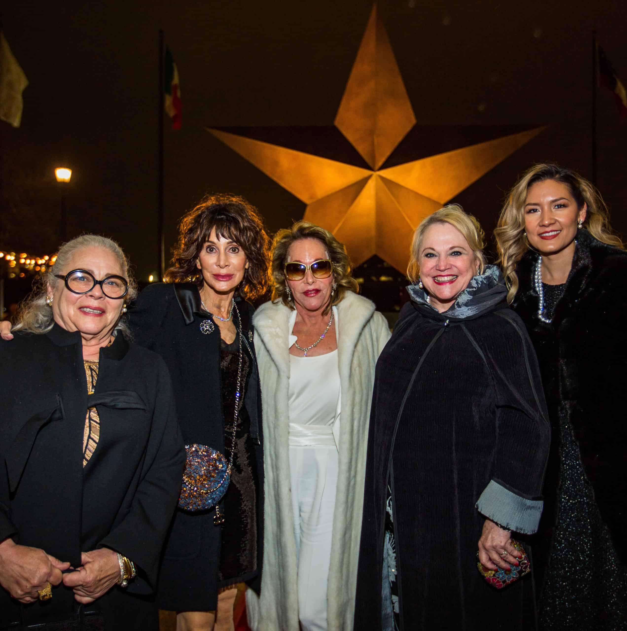 Christina Hawn, Annette Klein, Julianna Hawn Holt, Kathleen Gunn and Claudette Macias