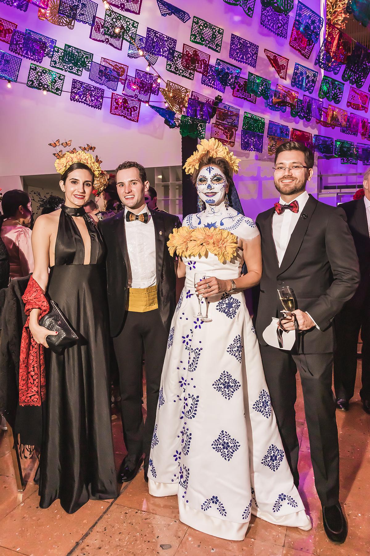 Christina Notzon Jafar, Hunter Henke, Margie Vera and Sal Jafar, II