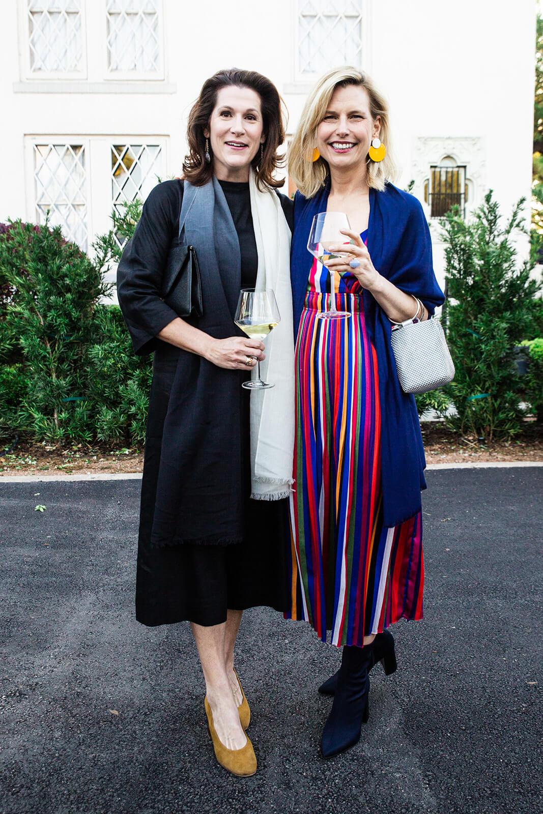 Christine Stewart and Susan Monroe