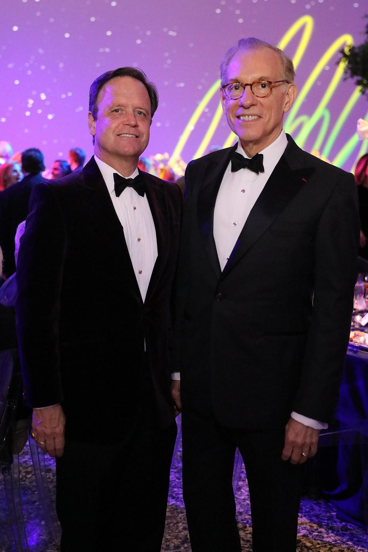 Christopher Gardner and Gary Tinterow