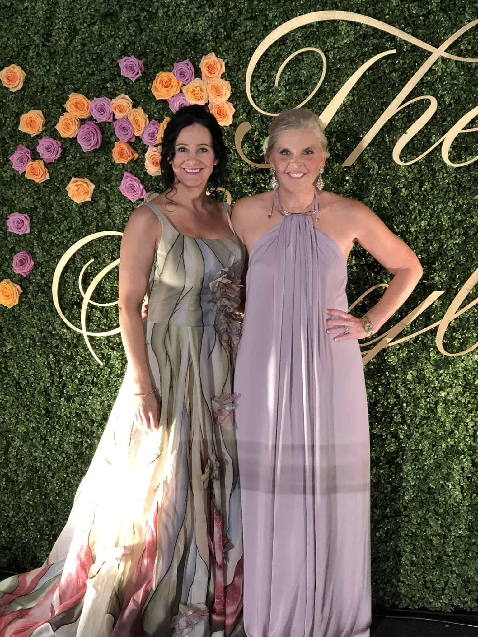 Cindy Klatt and Michelle Long Held