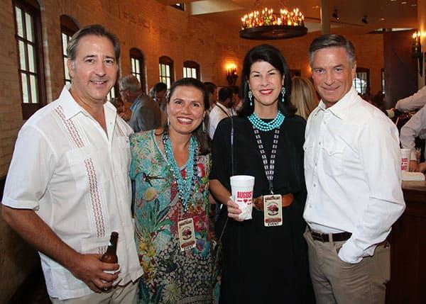 Claude Koontz, Cecilia Corso, Jessica Koontz and Chris Corso