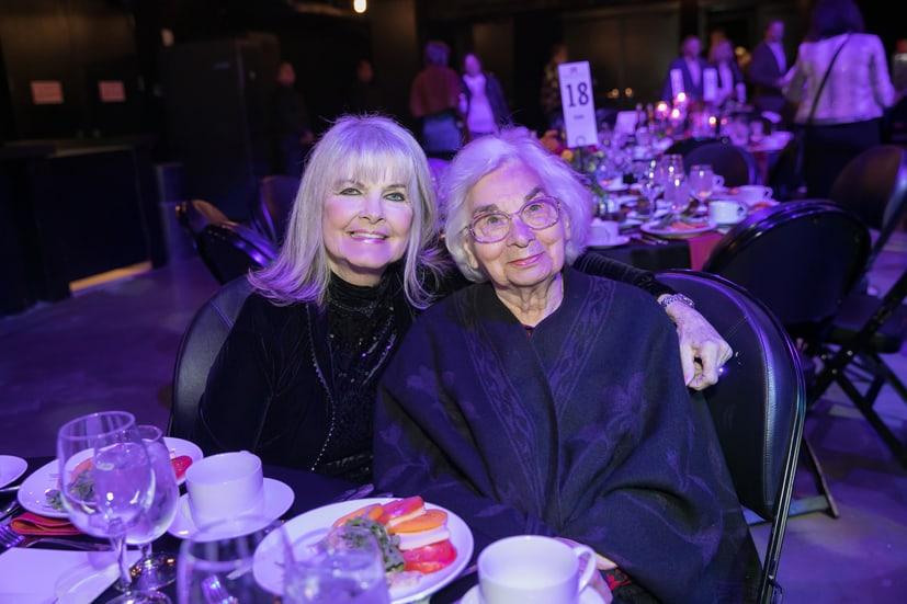 Connie Wilson and Edith Royal