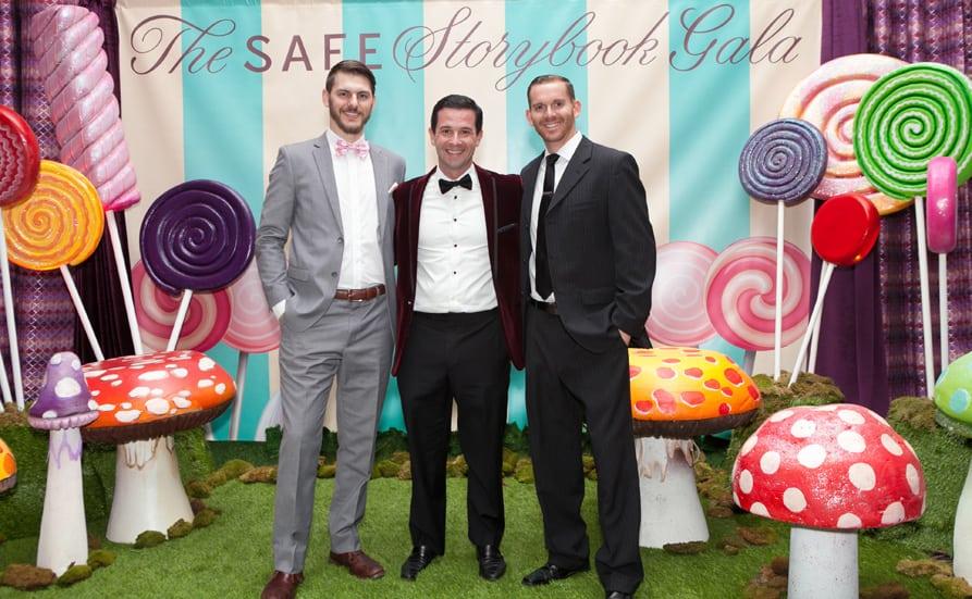 Corey Mercke, Jeremy Bravo and Brandon Weber