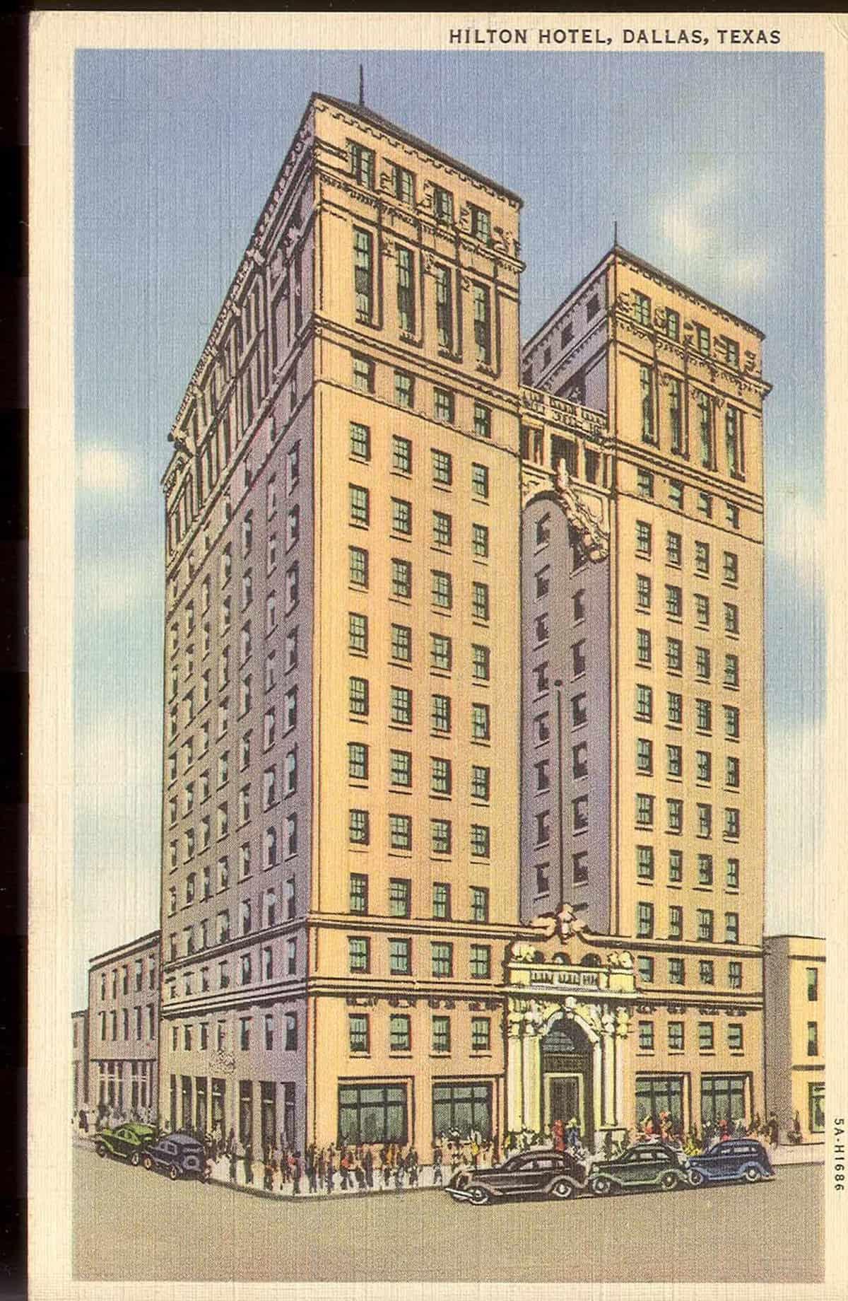 Dallas Hilton, 1930s