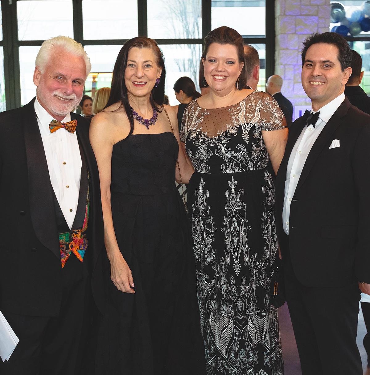 Dan and Hon. Darlene Byrne & Emily Rudenick-LeBlanc and Toby LeBlanc