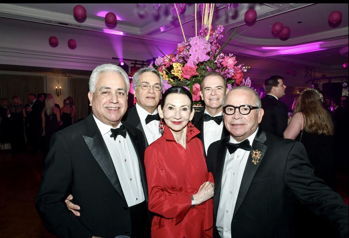 Danny Cuellar, Frank Blanchard, Delores Cuellar, Ed Cervantes and Raul Saldana