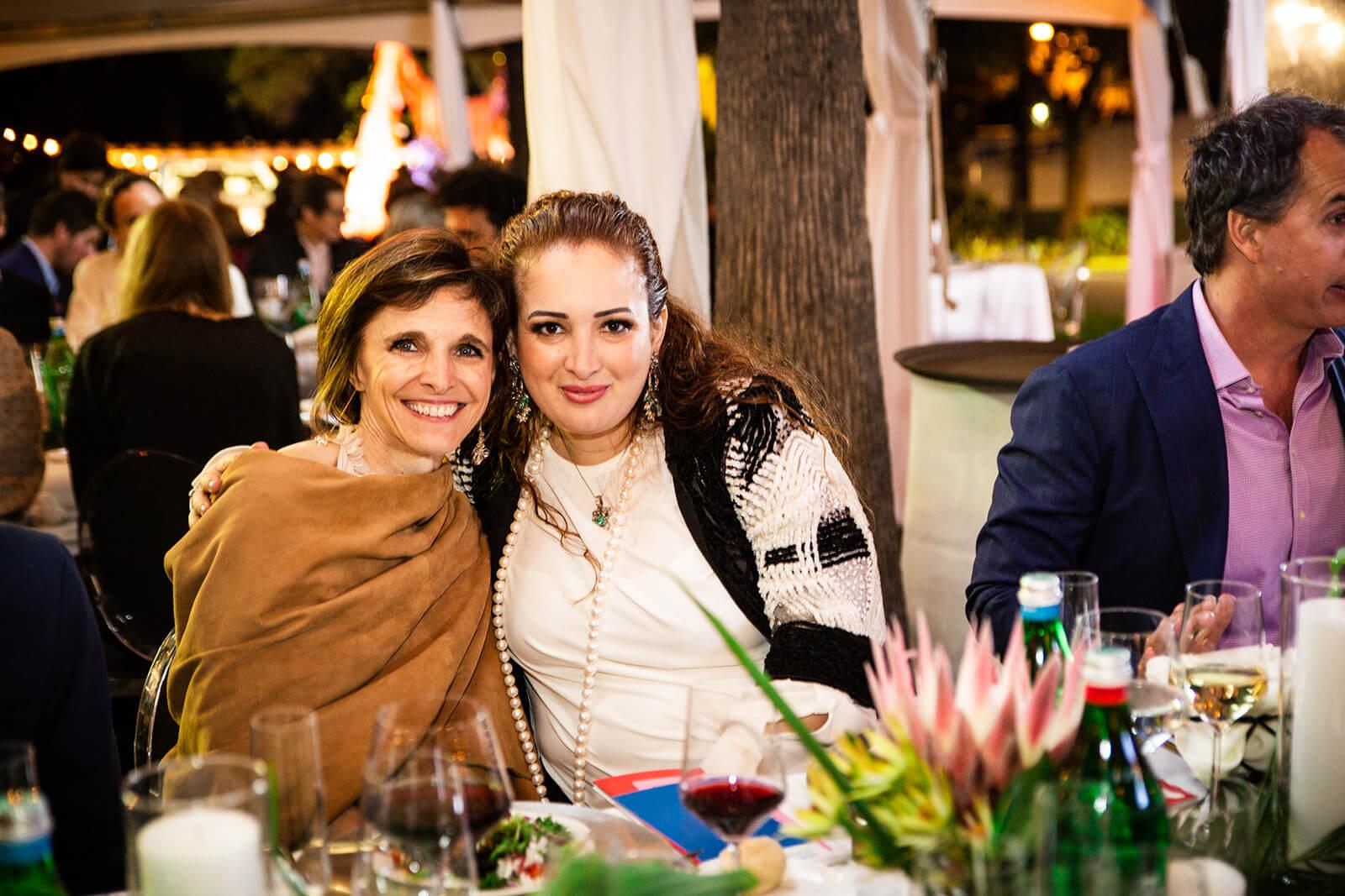 Deborah Dupré and Lorena Junco Margain