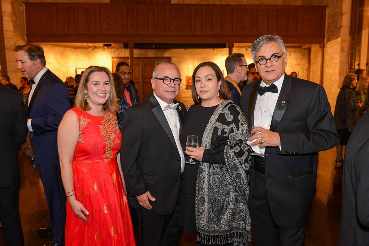 Dr. Alexis Wiesenthal, Raul Saldana, Regina Rocha and Frank Blanchard