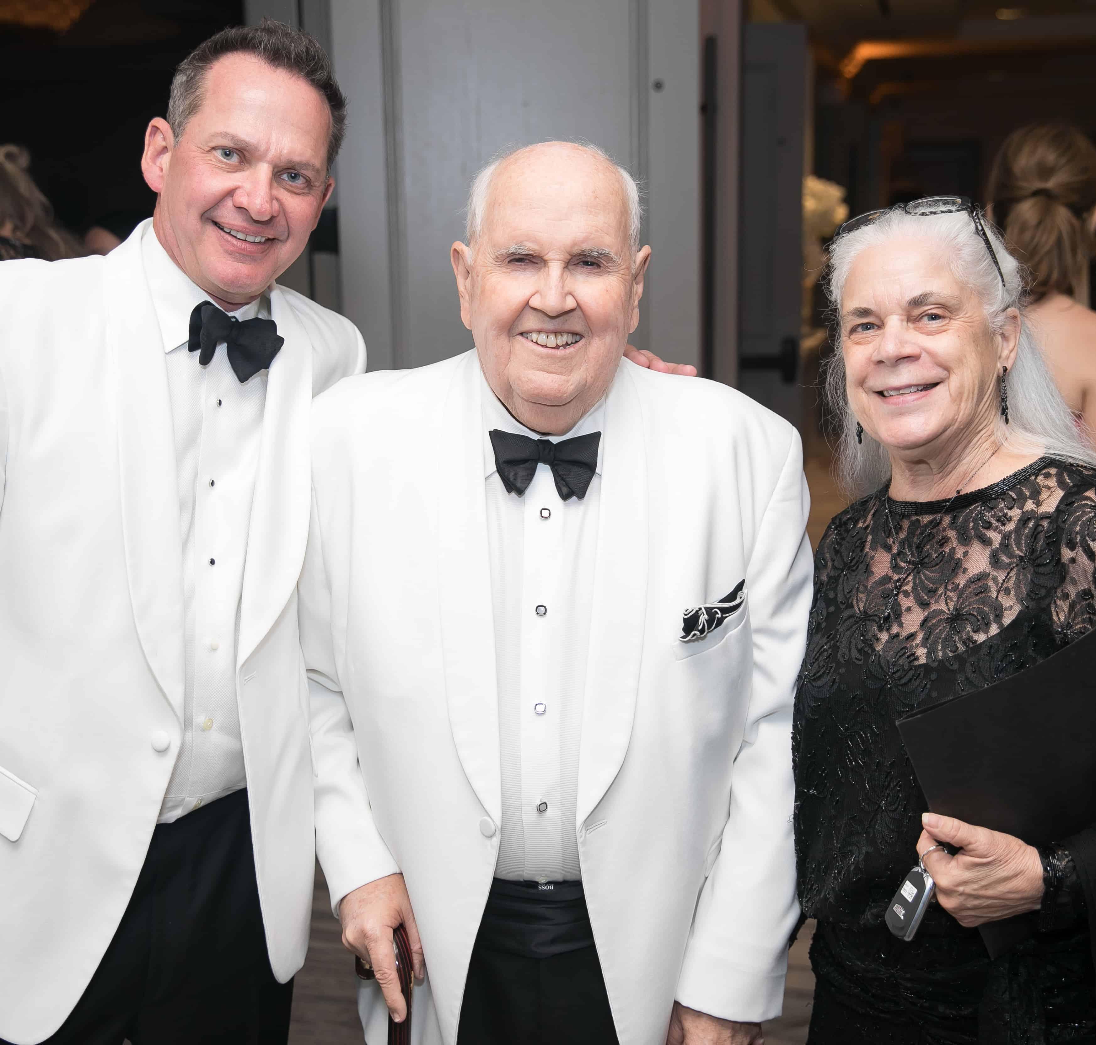 Dr. Bill Kessler, Bill Little and Kim Scoffield