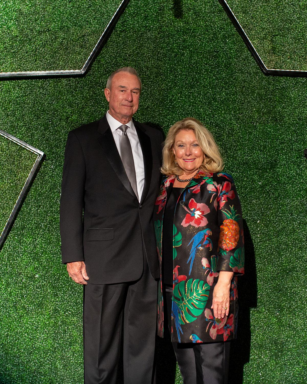 Dr. Martin Hurst and Jeanne Johnson Phillips