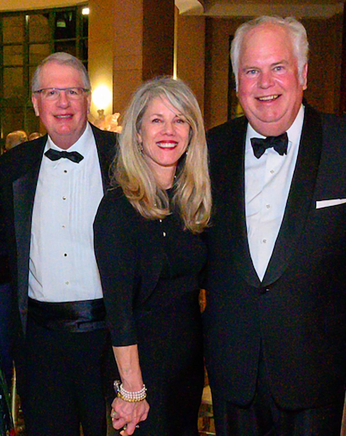 Dr. Randal Weber, Dr. Jane Edmond and Mark Davis