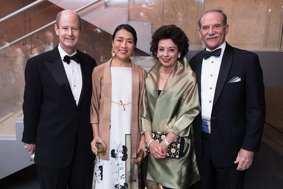 Eddie Allen, Chinhui Juhn & Kathy and Marty Goossen