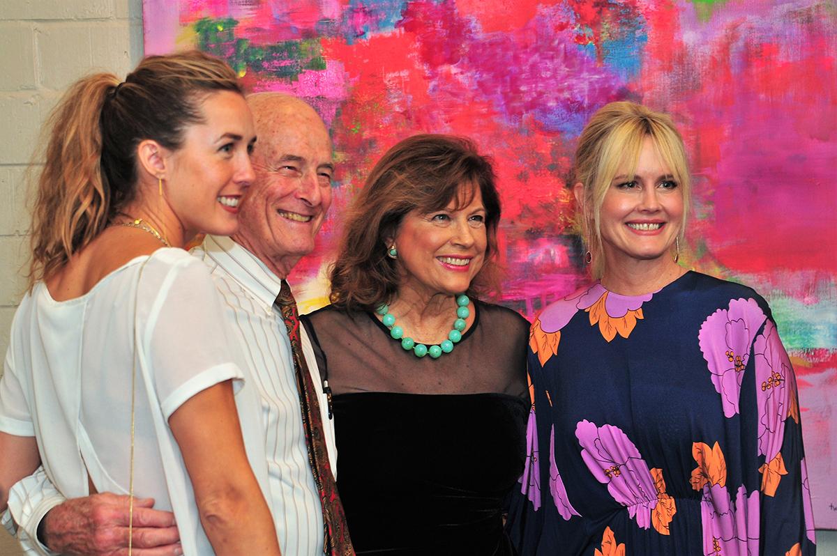 Elizabeth Houston, Bill and Tina Lyons & Tracy Williams