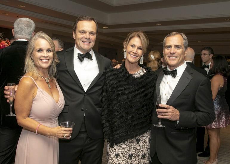 Ellen Sauer, Marshall Eubank _ Shannon and Jim Windham