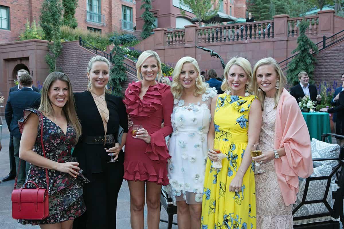 Emily Hongiblum, Sarah Geibel, Hallie Swope, Claire McNab, Nicola McLaughlin and Paige Cavender