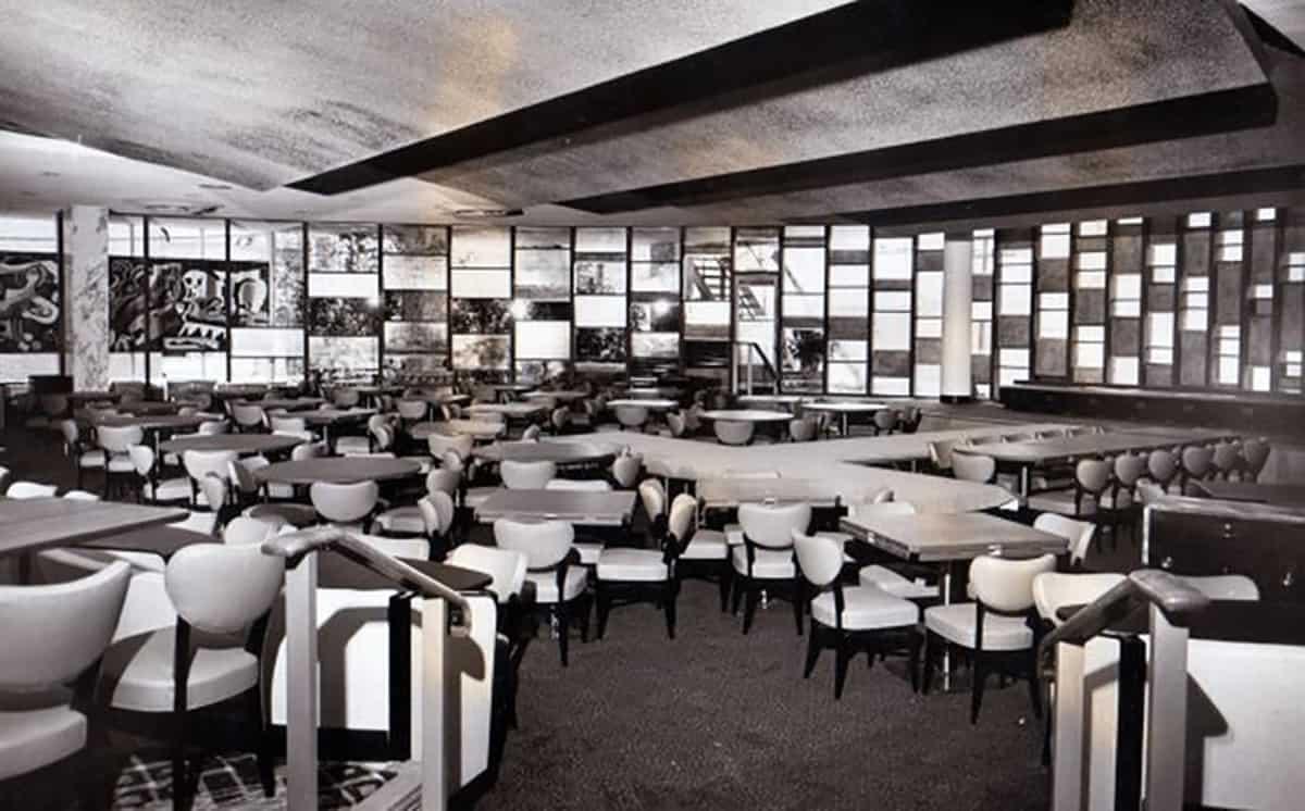 Empire Room, Hotel Statler, 1950s