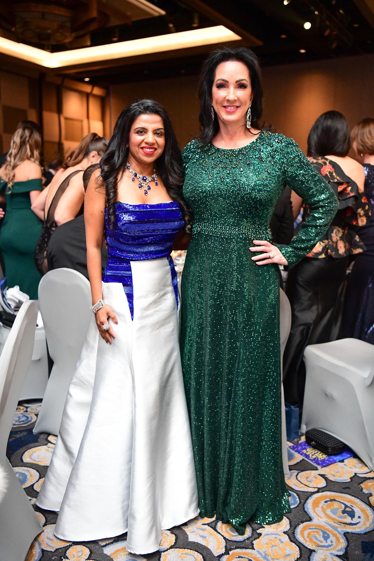 Farida Abjani and Alicia Smith