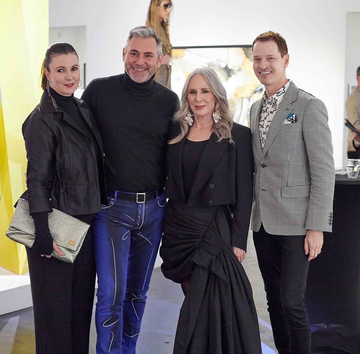 Ana Pettus, Ken Weber, Heidi Dillon and Brian McCulloch