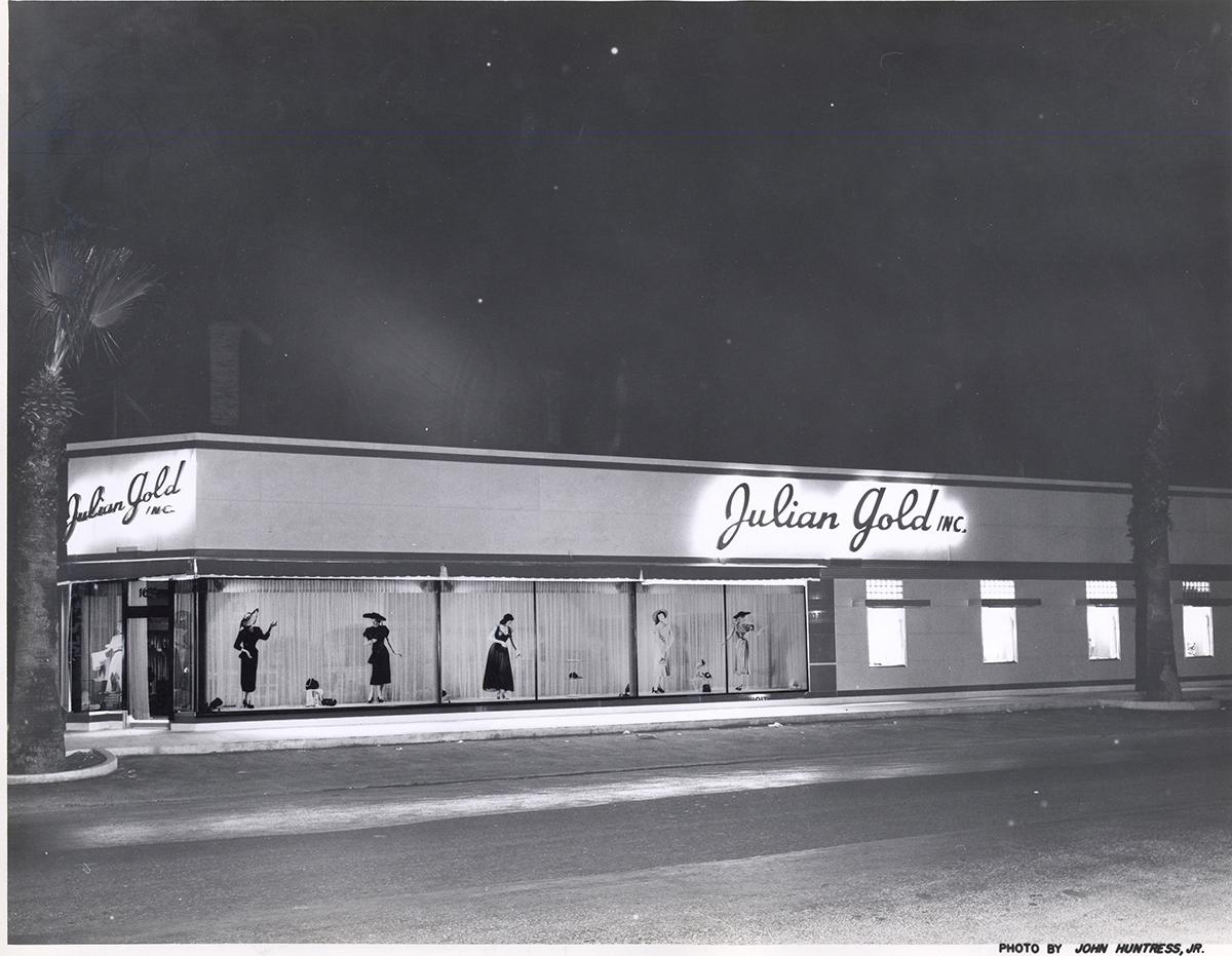 Feature_Julian Gold store, San Antonio, 1950s