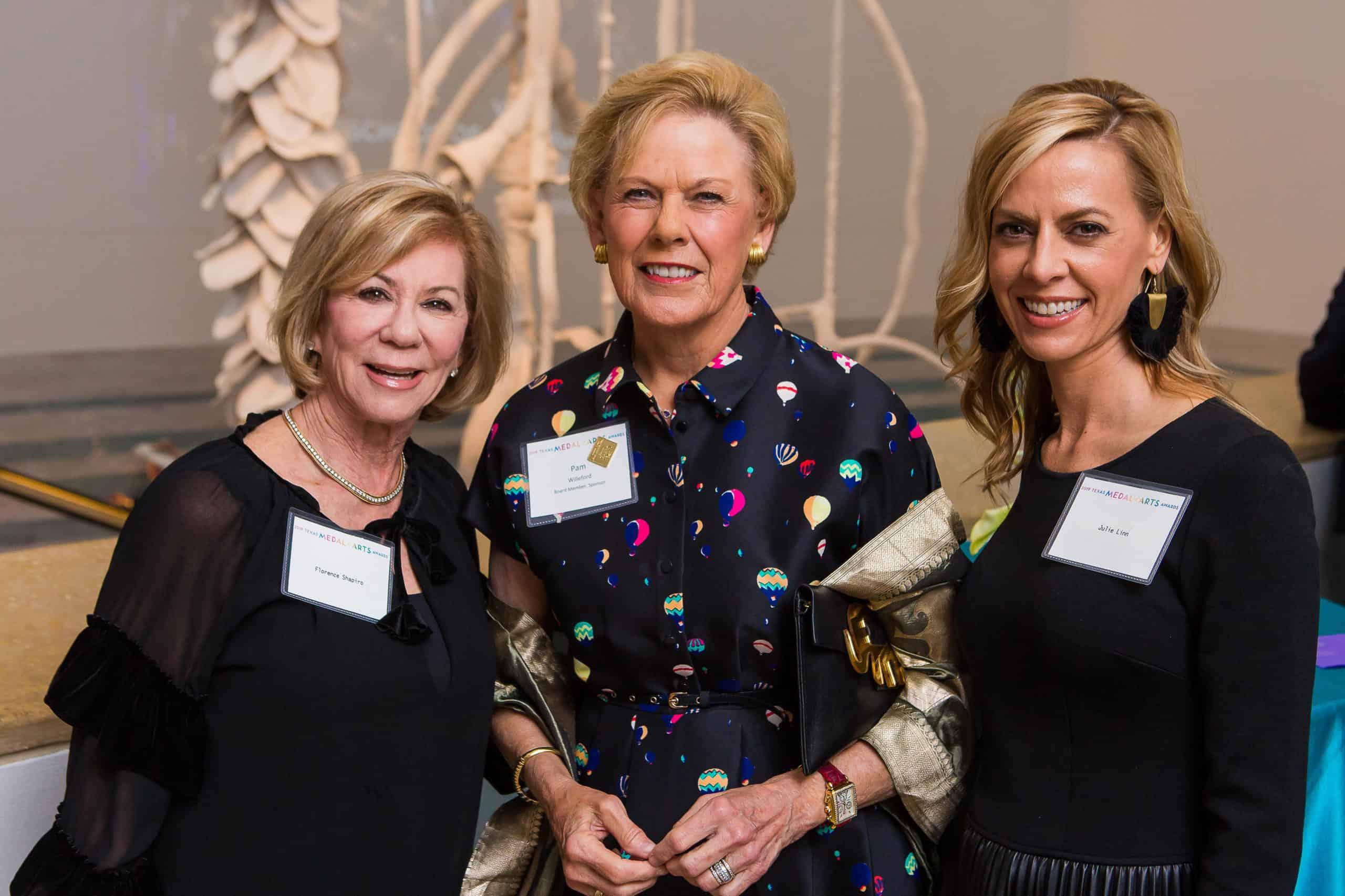 Florence Shapiro, Pam Willeford and Julie Linn
